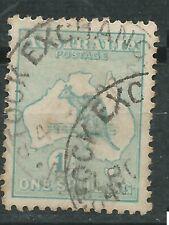 Australia scott# 10 usado Canguro 1913