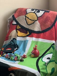 Angry Birds Shower Curtain Plus Accessories