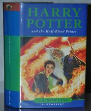 SIGNED 1ST/1ST ED~ HARRY POTTER AND THE HALF BLOOD PRINCE ~J.K. ROWLING