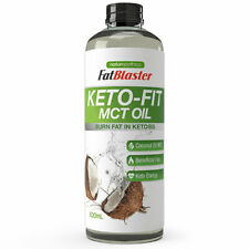 FATBLASTER KETO FIT MCT OIL 500ML BURN FAT IN KETOSIS COCONUT OIL ENERGY