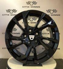 """Cerchi in lega Dacia Duster da 16"""" NUOVI OFFERTA SUPER PREZZO ESSE5 BLACK TOP"""
