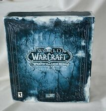 World of Warcraft: Wrath of the Lich King - Collector's Edition- Sealed Dvd/Art