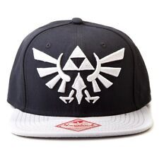 Official Legend of Zelda Black Snapback Trucker Baseball Hat - Nintendo Cap Logo