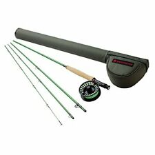 Redington Fly Fishing Combo Kit 490-4 Vice Outfit with I.D Reel 4 Wt 9-Foot 4pc