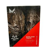 Mission Active Men's Realtree Xtra Baselayer Tights Vapor Active Size XL New