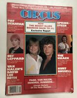 Vintage Circus Magazine September 1981 Pre Owned NOT NM. SEE COND. Rock N Roll