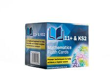 11+ & KS2: Mathematics Flash Cards