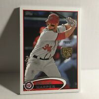 2020 Topps MLB Washington Nationals Bryce Harper Commerative Medal Baseball Card