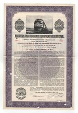 Northern Pacific Railway Equipment Trust of 1956 bond