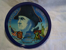 1976 George Washington America'S Bicentennial Tray,Metal,liberty bell,statue of