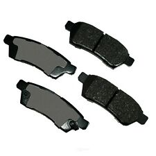 Disc Brake Pad Set-Performance Ultra Premium Ceramic Pads Rear Akebono ASP1100
