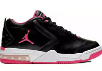 NIKE Air Jordan Shoes Size 6Y Big Fund GS Youth Black Hyper Pink White Brand New