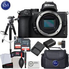 Nikon Z 50 Mirrorless Digital Camera (Body Only) and Advanced Bundle