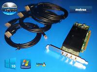 Dell Optiplex 790 990 7010 9010 Matrox Quad 4 Monitor Displayport Video Card