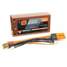 Spektrum 6300mAh 2S 7.6V 100C Smart HV LiPo Short 5mm T SPMX63002S100HT