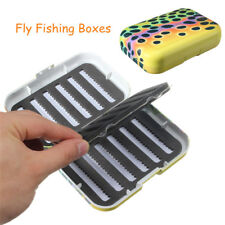 Fly Fishing Tackle Boxes Rainbow Trout Skin Micro-slotted Foam HOT