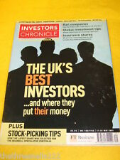 INVESTORS CHRONICLE - UK's BEST INVESTORS - MAY 17 2002