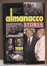ALMANACCO 1989 STORIA ILLUSTRATA Storia Contemporanea Fatti Personaggi Saggio di