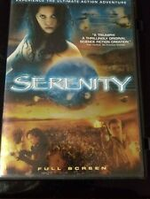 SERENITY -DVD-2005- FULL SCREEN- REGION 1- RATED PG-13