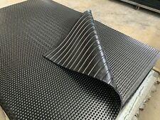 Rubber Flooring GYM Mat various Thickness 12,15,17mm (1.82m Length 1.2m width)