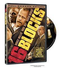 16 Blocks (DVD, 2006) Bruce Willis WORLDWIDE SHIP AVAIL!