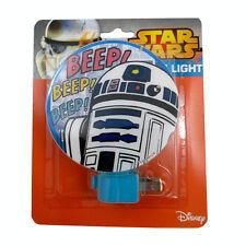 Star Wars Disney R2-D2 Beep Beep Night Light Kids Room Lamp Decor Nightlight Boy