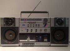 Vintage JVC PC200C PCR200C Speaker System PCB200K BoomBox Ghetto Blaster Stereo
