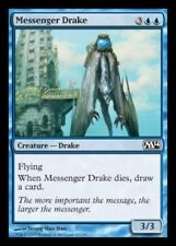 4x MTG: Messenger Drake - Blue Common - Magic 2014 - M14 - Magic Card
