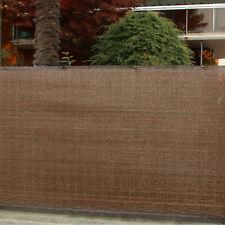 Telo rete ombreggiante marrone corten ombra frangivento 95 gr/mq mt 5x1 Tenax