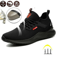 Safety Shoes Trainers Men Women Lightweight Steel Toe Cap Work Hiking Boots NEWS