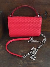 Kenneth Cole Crossbody Handbag Red Purse small Reaction