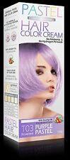 Permanente Haarfarbe PASTEL Cosplay Goth VIOLETT LILA Ohne Wasserstoffperoxid