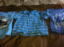 Lot Of 6 Boys Clothing Long Sleeve Shirts DKNY 100% Cotton Size 3T