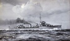 Arthur James Wetherall Burgess (1879-1957) HNLMS Evertsen, Sea Plane Carrier.
