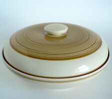 SUSIE COOPER - SPIRALS - OLD GOLD - LIDDED SERVING DISH VEG BOWL TUREEN 2360 VGC