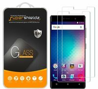 2x Supershieldz Tempered Glass Screen Protector For Blu VIVO 5R