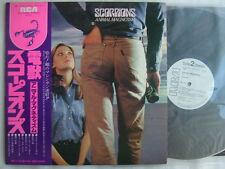 PROMO WHITE LABEL / SCORPIONS ANIMAL MAGNETISM / WITH OBI UN-PLAYED
