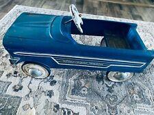 Vintage Rare 'Sportcrest Wagon' Pedal Car Murrayblue 1950's-1960's