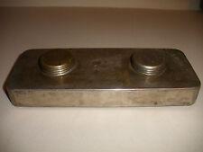 Rare antique alcohol oil burner 1860 USMLE ? Lighthouse Burrows metal mfg co NY