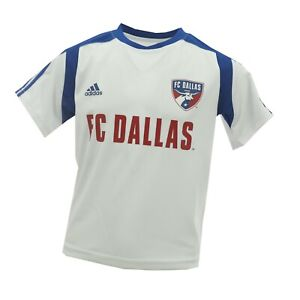FC Dallas Official MLS Adidas Youth Kids Size Athletic Jersey New With Tags