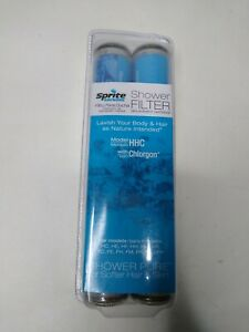 2 Sprite Showers Shower Filter Replacement Cartridges HHC w/ Chlorgon Ships FREE