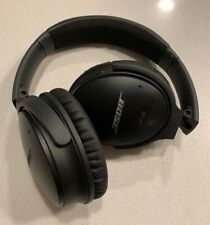 Bose QuietComfort 35 - Black, Used - New ear pads + case included