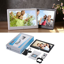 "10"" White HD LED Digital Photo MP4/Video/Movie Player Frame Picture Album SD USB"