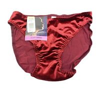 Enhance 'Velvet Caress' Wine Vintage - Size 7-Large Panties #7231 2pk SHIPS FREE
