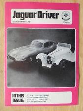 JAGUAR DRIVER Magazine March 1978 Edition 212 UK Mkt - Sales Brochure
