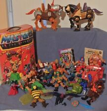 24 Piece Lot Vintage Masters of the Universe Toys 1980