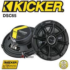 """Kicker DSC650 6.5"""" 4-Ohm 60 Watt Rms Co-Axial Speaker - FS 2"""