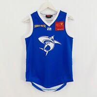 East Fremantle Sharks Guernsey Powerplay WAFL Football Jersey Mens XS