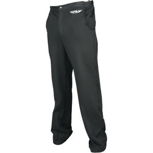 Fly Racing Mid Layer Bottoms/Pants (BLACK) XL (X-Large)