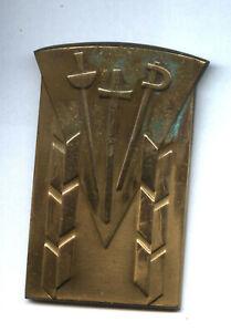 unkown Fencing medal escrime plaque